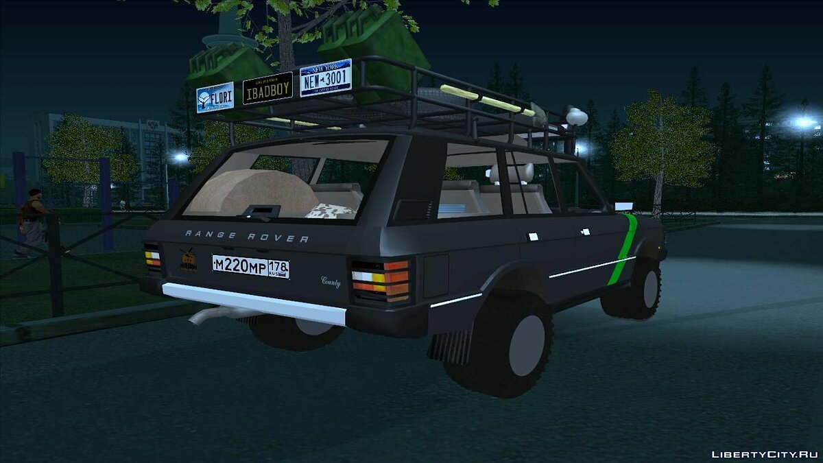 Range Rover Country Classic Offroad для GTA San Andreas - скриншот #2