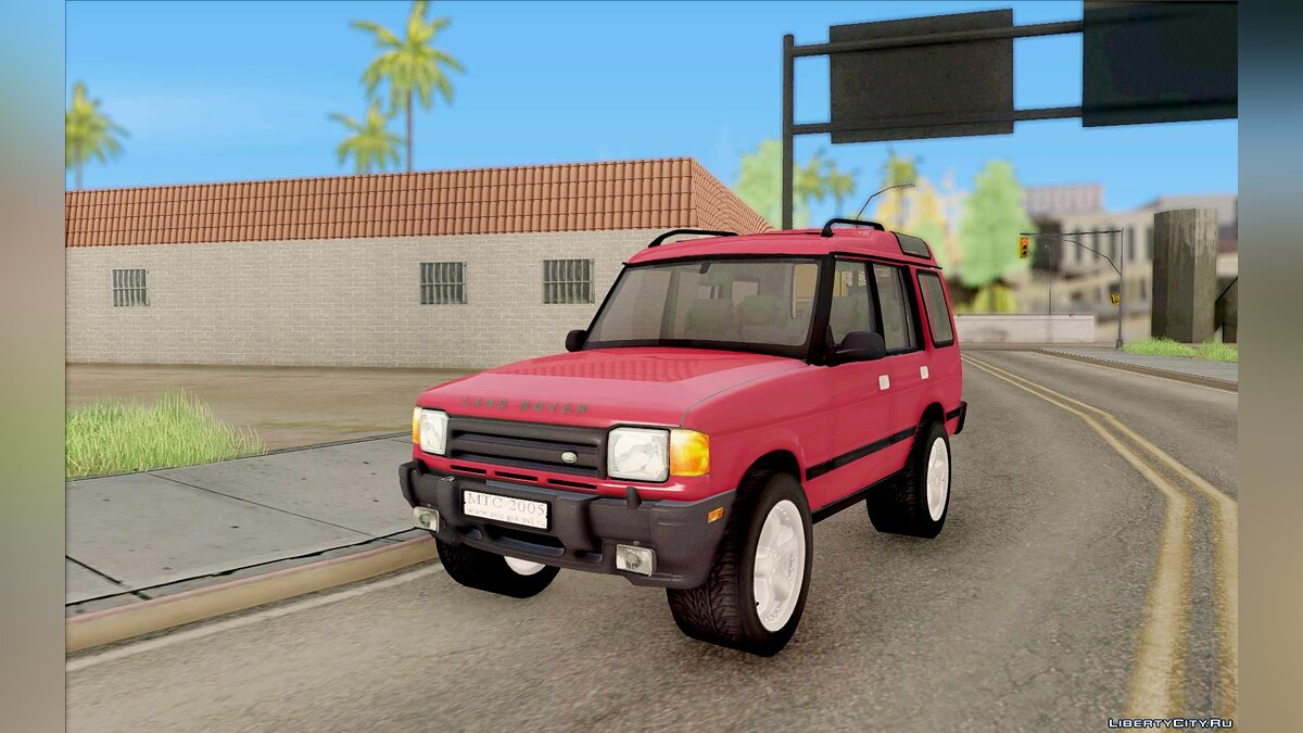 ��ашина Land Rover Land Rover Discovery 2 для GTA San Andreas