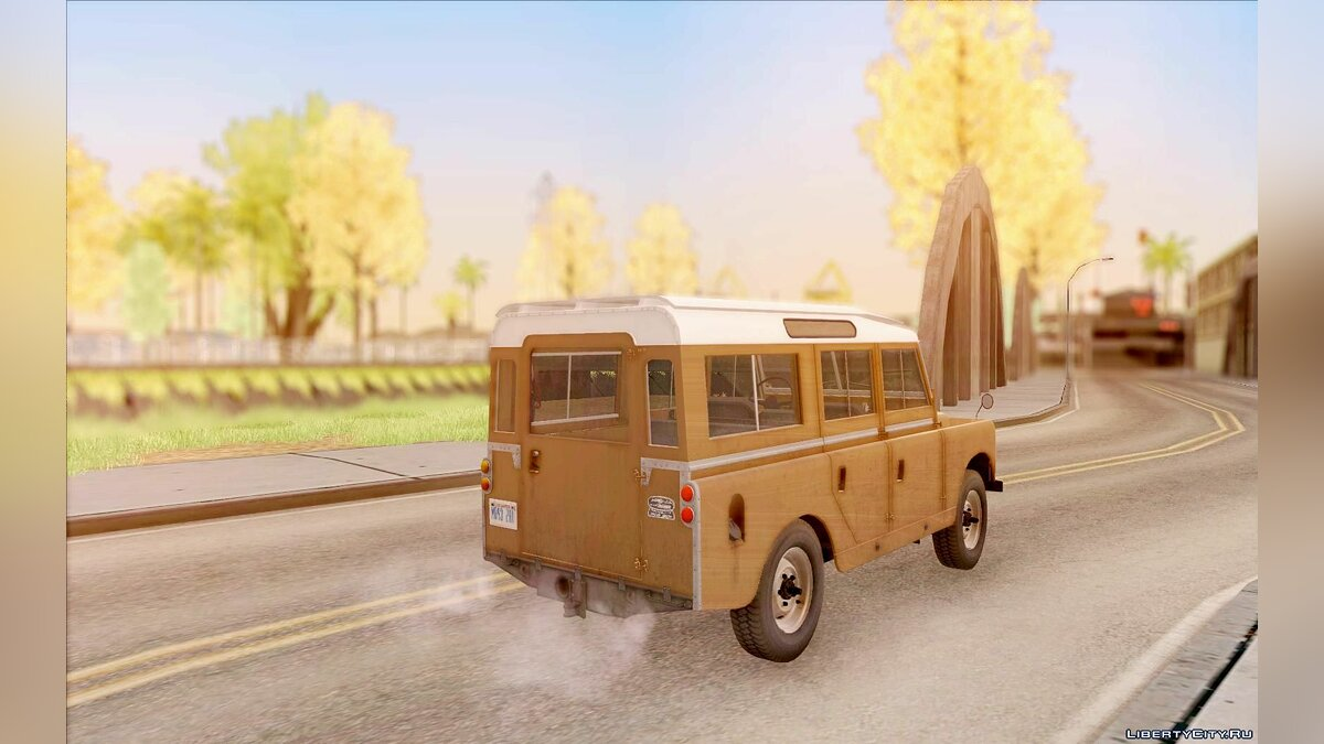 Land Rover Series IIa LWB Wagon 1962-1971 для GTA San Andreas - скриншот #3