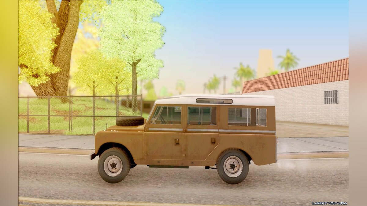 Land Rover Series IIa LWB Wagon 1962-1971 для GTA San Andreas - скриншот #5