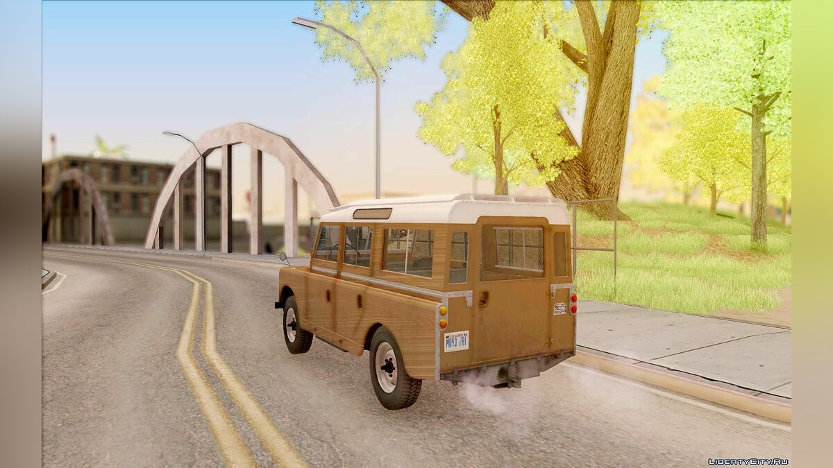 Land Rover Series IIa LWB Wagon 1962-1971 для GTA San Andreas - скриншот #9