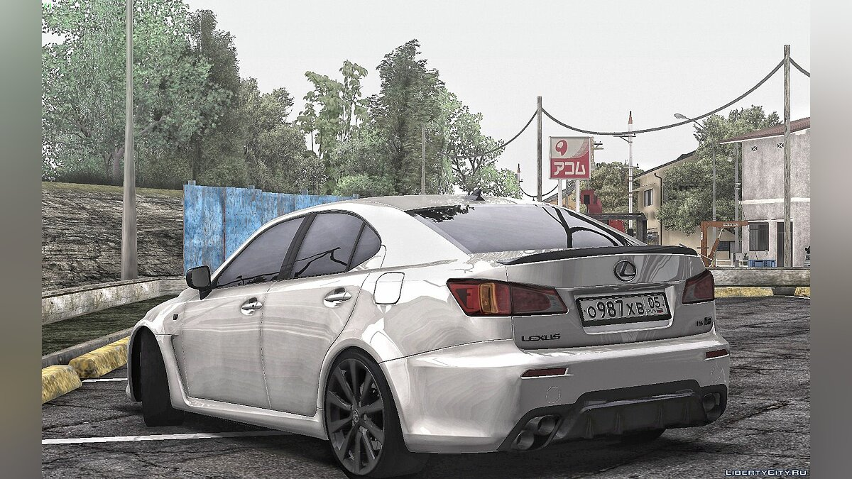 Машина Lexus Lexus Is F-sport 2010 для GTA San Andreas