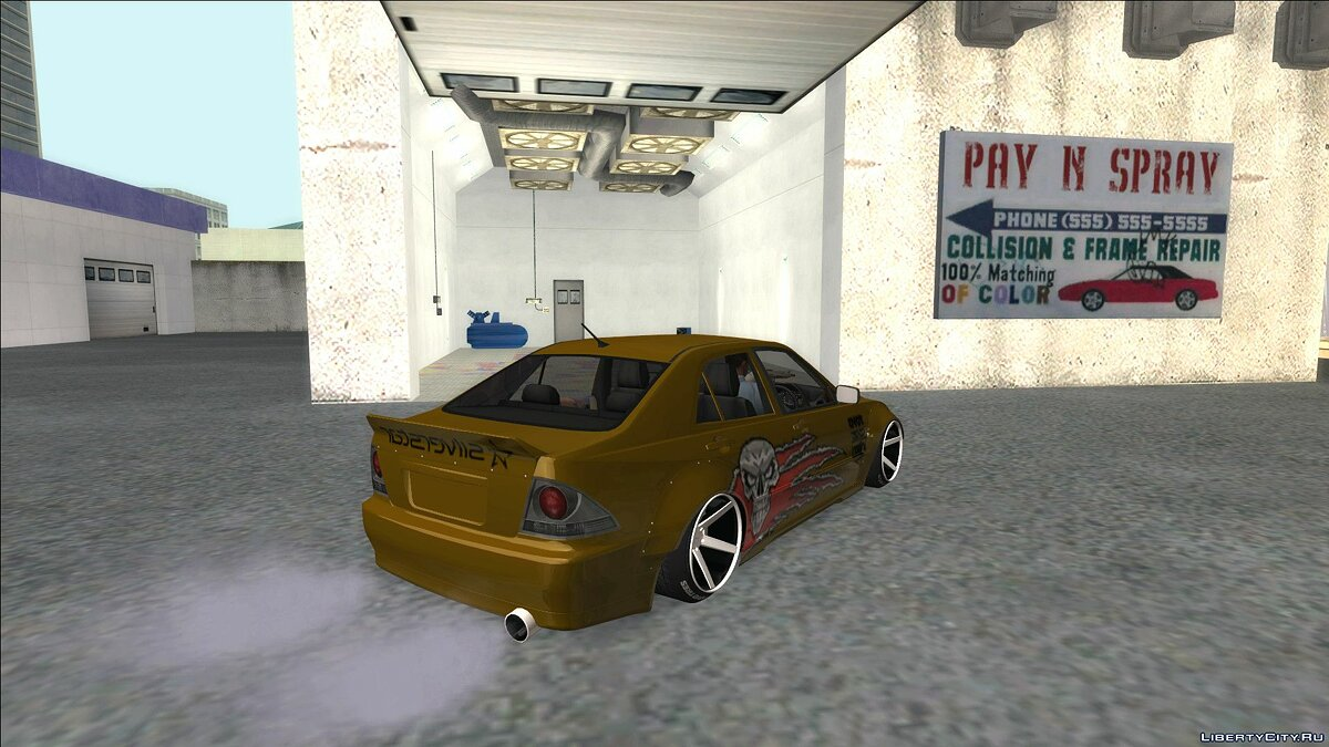 Машина Lexus 2003 Lexus IS300 Rocket Bunny для GTA San Andreas
