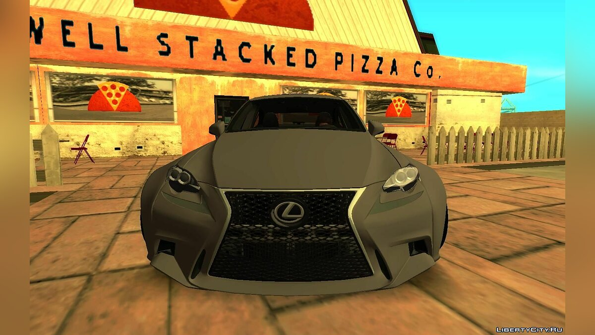 Машина Lexus 2015 Lexus IS350 Widebody для GTA San Andreas