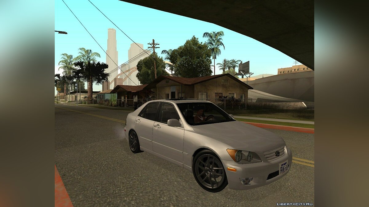 Lexus IS300 TT Black Revel для GTA San Andreas
