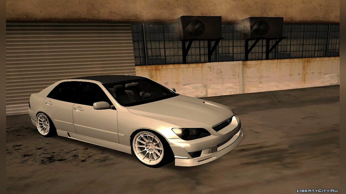 Lexus IS300 HellaFlush для GTA San Andreas - скриншот #2