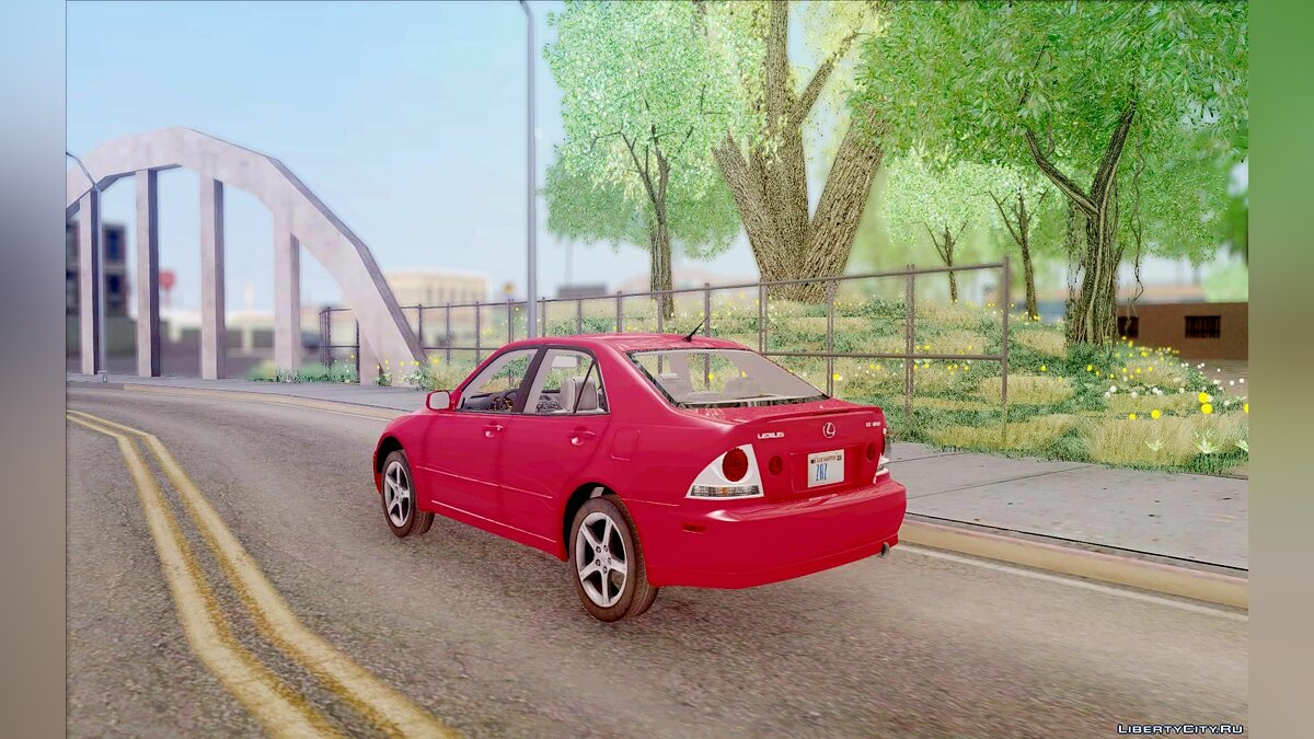 Lexus IS300 Stock для GTA San Andreas - скриншот #6