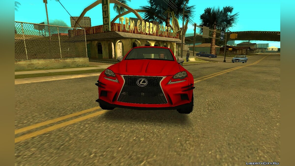 Машина Lexus 2016 Lexus IS350 Widebody для GTA San Andreas