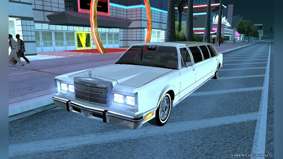 1986 Lincoln Town Car Eagle для GTA San Andreas
