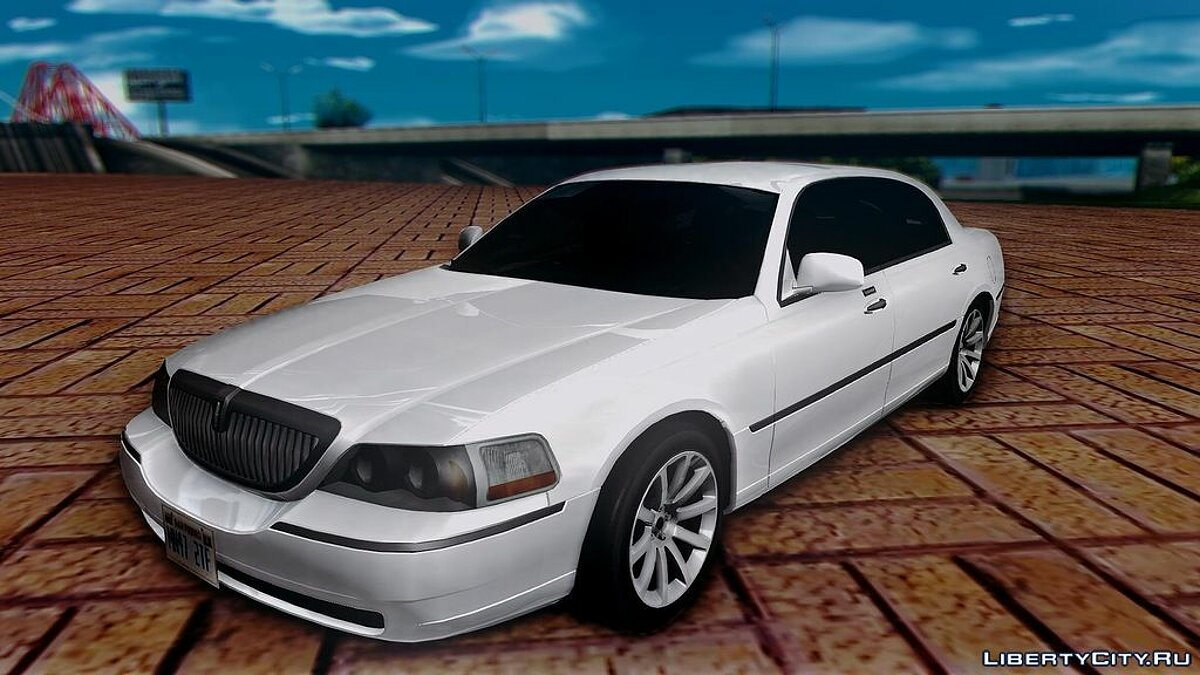 Lincoln Town Car TT Black Revel для GTA San Andreas