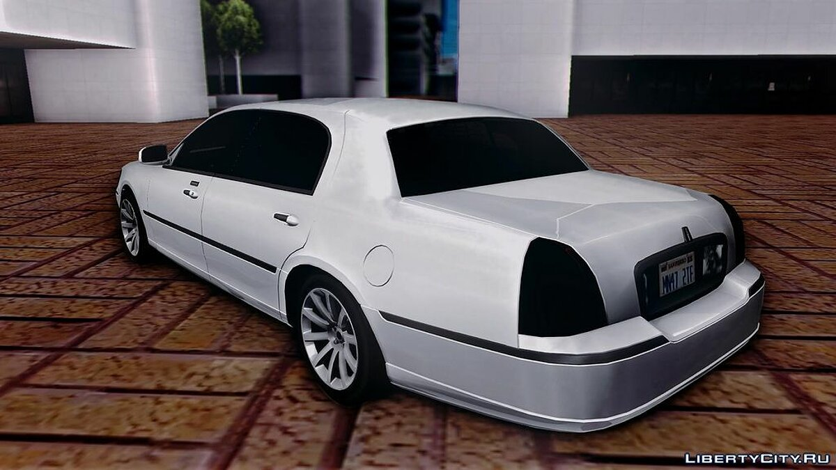 Lincoln Town Car TT Black Revel для GTA San Andreas - скриншот #2