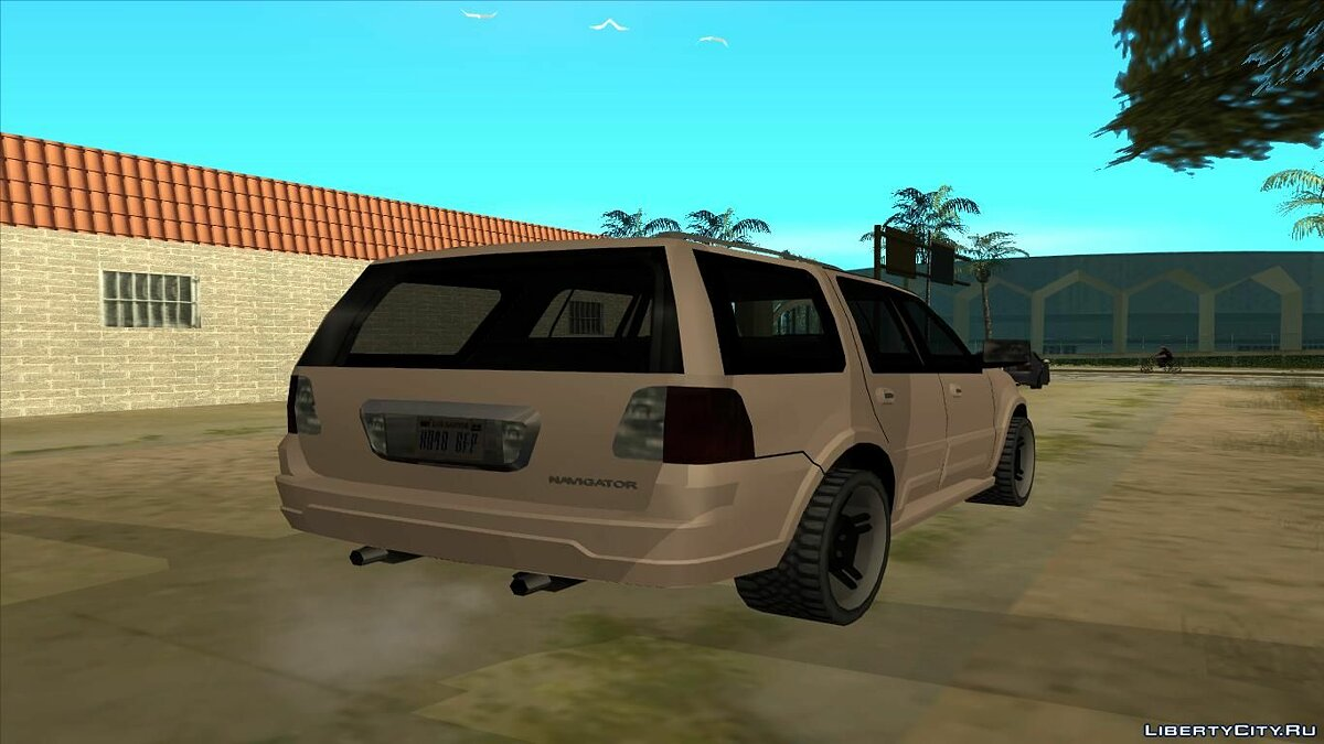 Машина Lincoln Lincoln Navigator 2d Generation Low Poly для GTA San Andreas