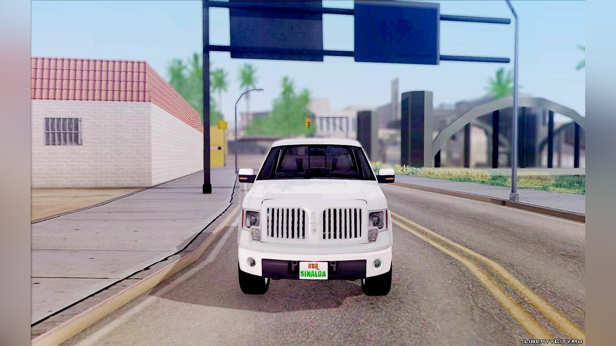 Машина Lincoln Lincoln Mark LT 2012 для GTA San Andreas