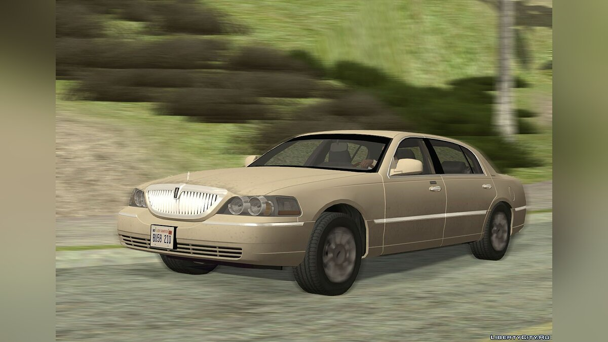 Машина Lincoln Lincoln Town Car L Signature 2010 для GTA San Andreas