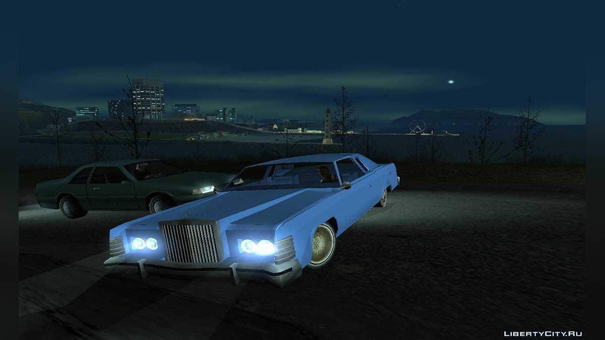 Машина Lincoln Lincoln Continental Town Coupe 1979 TUNABLE для GTA San Andreas