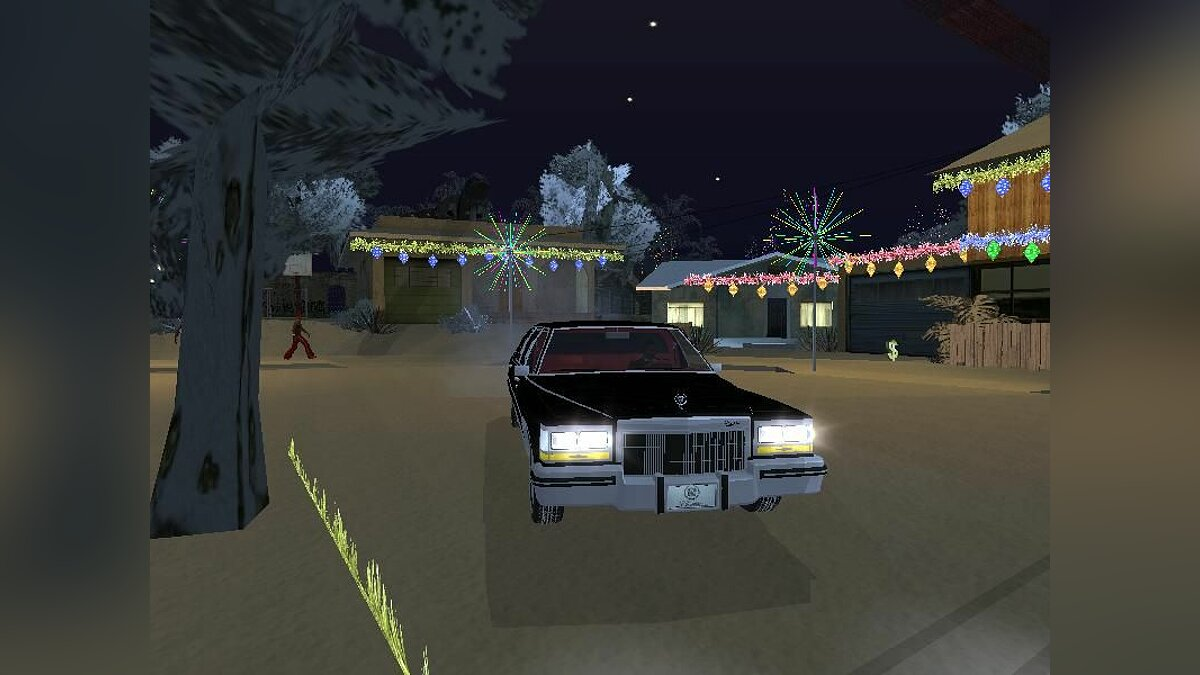 New Year in Groove для GTA San Andreas
