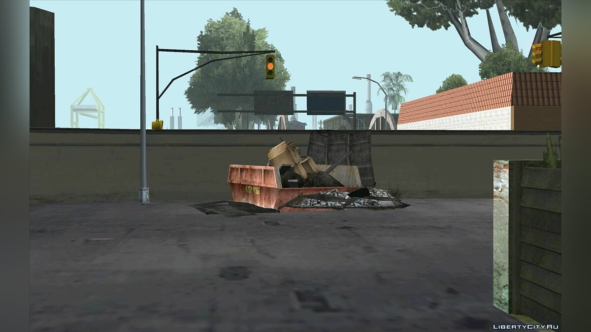 Новый остров Updated Grove Street для GTA San Andreas