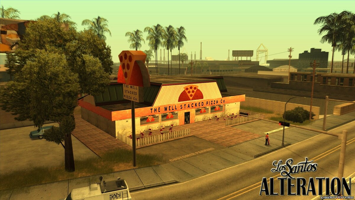 Новый остров Los Santos Alteration для GTA San Andreas