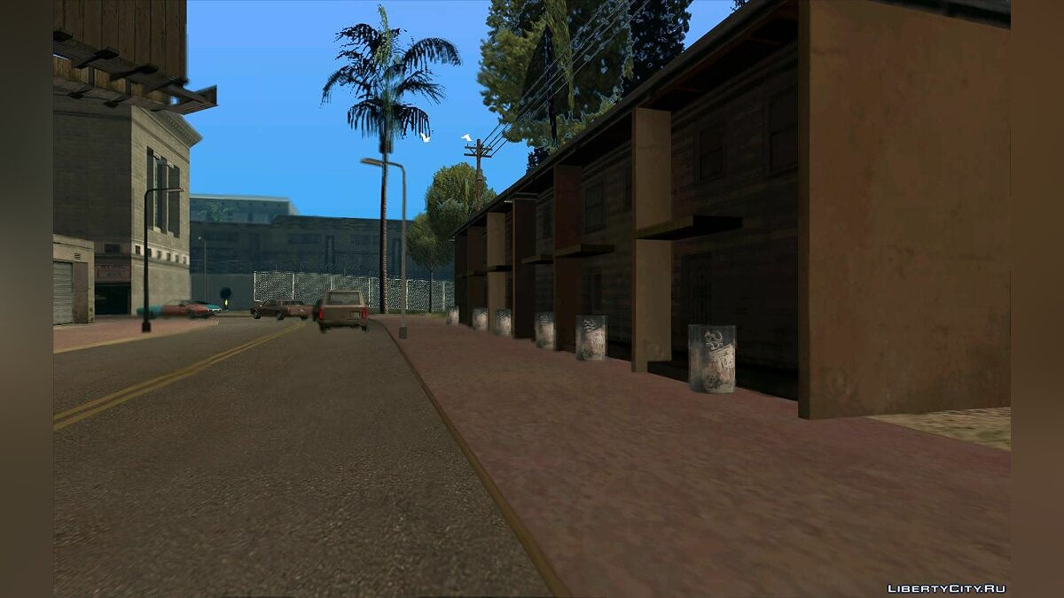 Новый остров Honous District для GTA San Andreas