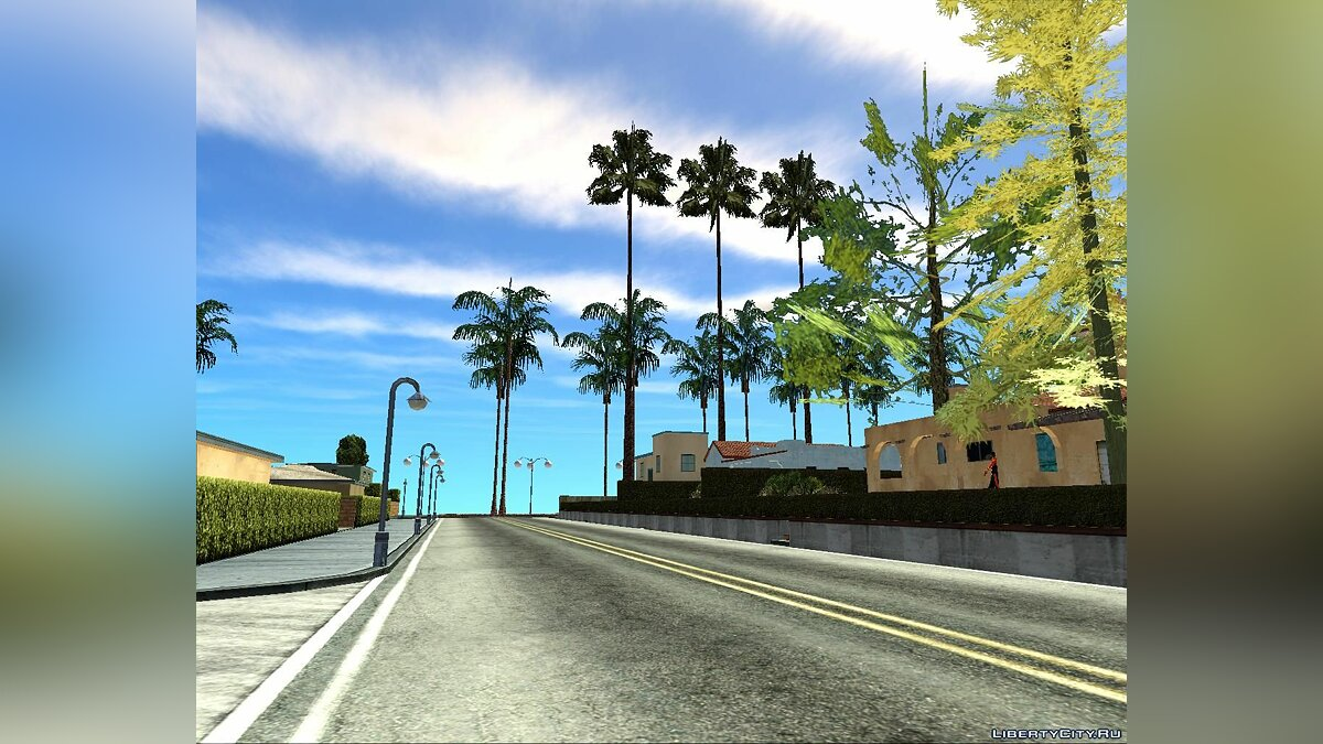 Новый остров The Twin City of Los Santos in Las Venturas для GTA San Andreas