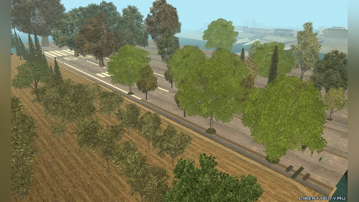 ��овый остров BSOR Ultimate Test of Vegetation - v2.0.0 для GTA San Andreas