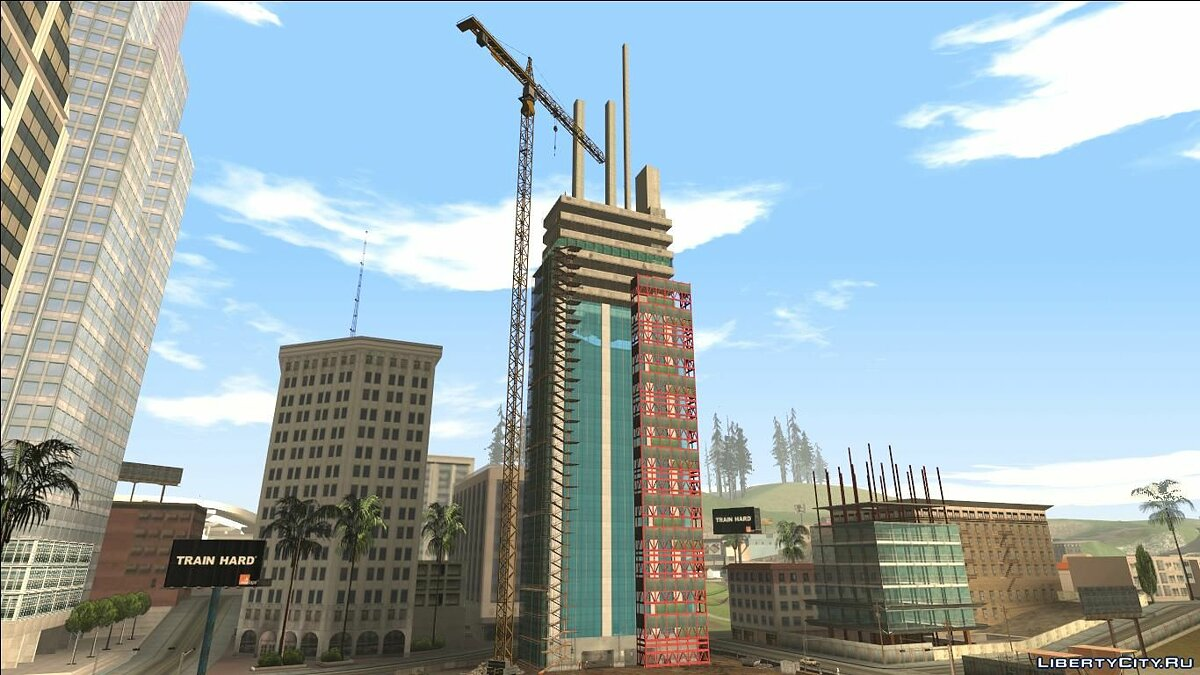 Новый остров INSANITY Construction Site для GTA San Andreas