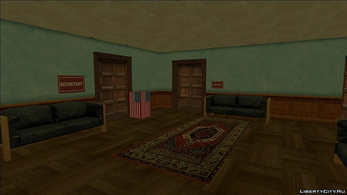 Новый остров Fort Carson Enterable Buildings Mod для GTA San Andreas