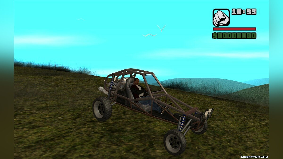 Новый остров GTA nature[test map] для GTA San Andreas