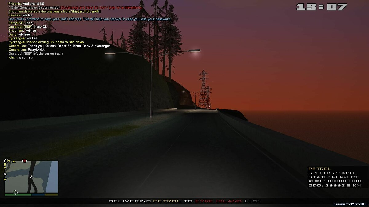 Новый остров Missing lightpoles added для GTA San Andreas