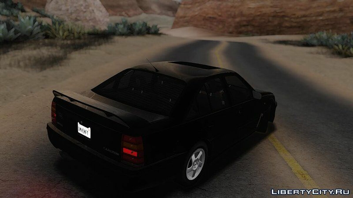 Машина Lotus Lotus Carlton 1992 [Tunable|Template|HQ] для GTA San Andreas