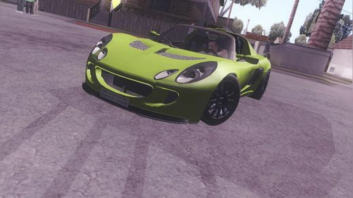 Lotus Exige V8 TT Black Revel для GTA San Andreas
