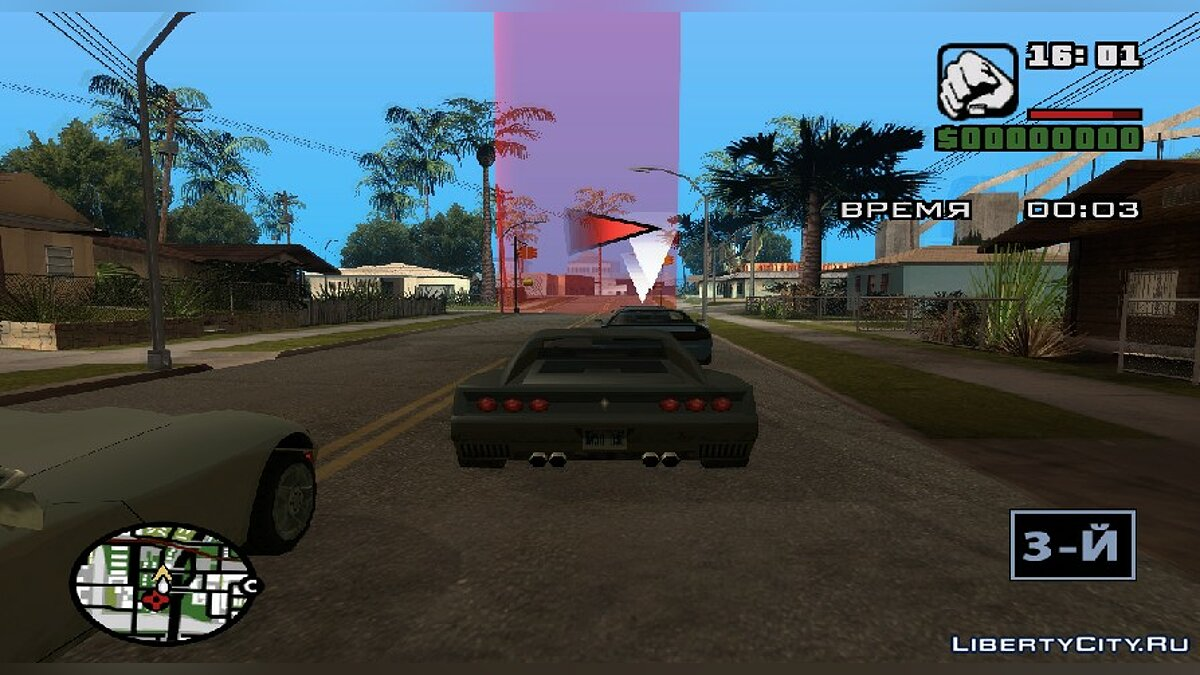 Мод MAIN.SCM Game Race Mission Editor v1.0 для GTA San Andreas
