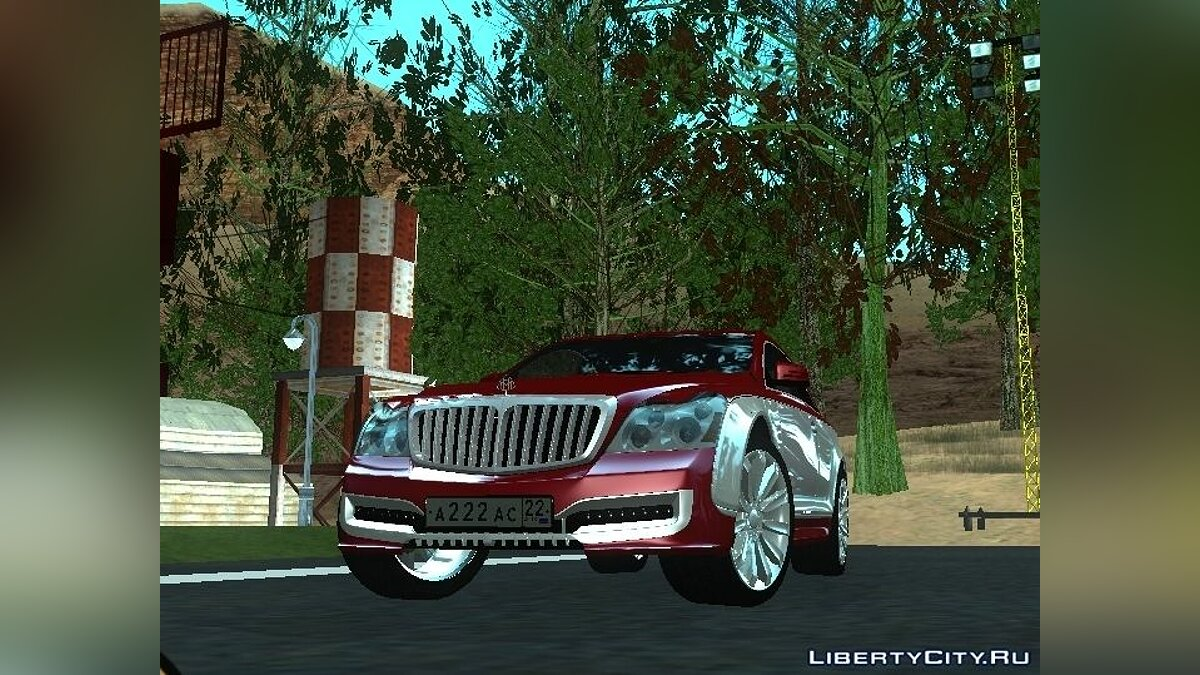 Машина Maybach Maybach 57S Coupe Xenatec для GTA San Andreas