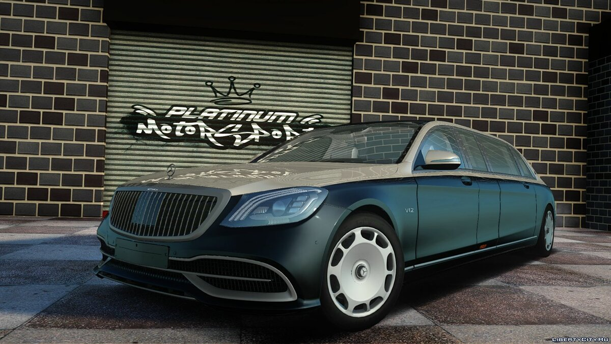 Машина Maybach Mercedes‑Maybach Pullman 2019 для GTA San Andreas