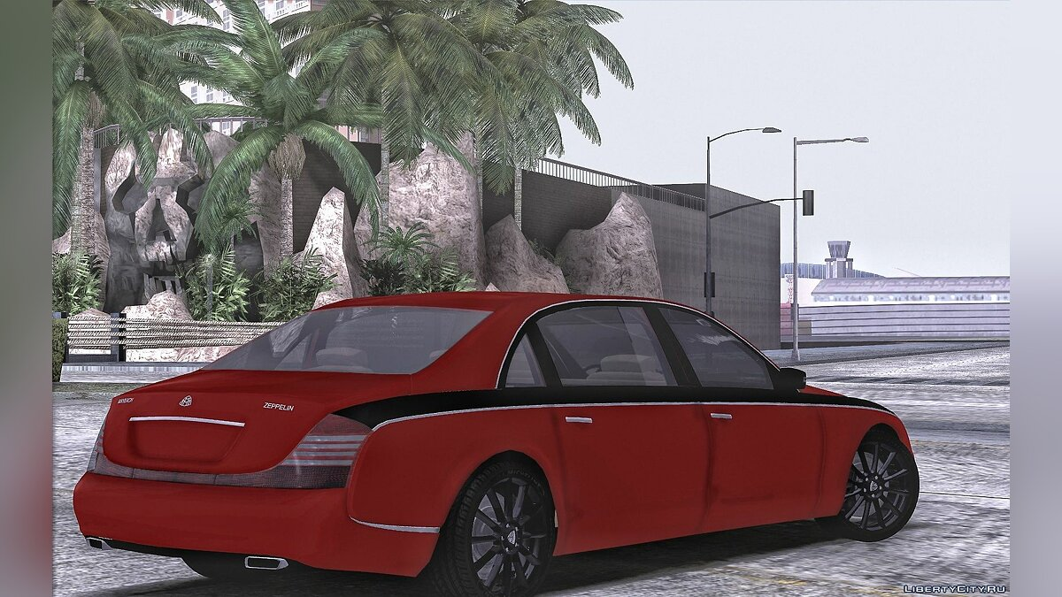 Машина Maybach Maybach Zeppelin для GTA San Andreas