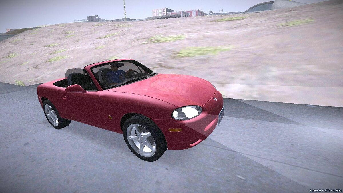 Mazda MX-5 Miata Tunable для GTA San Andreas - скриншот #2