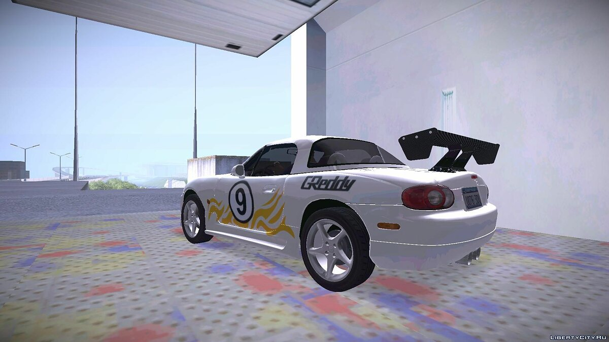Mazda MX-5 Miata Tunable для GTA San Andreas - скриншот #3