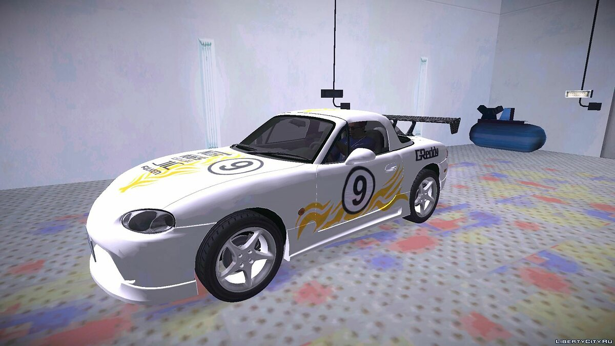 Mazda MX-5 Miata Tunable для GTA San Andreas - скриншот #6