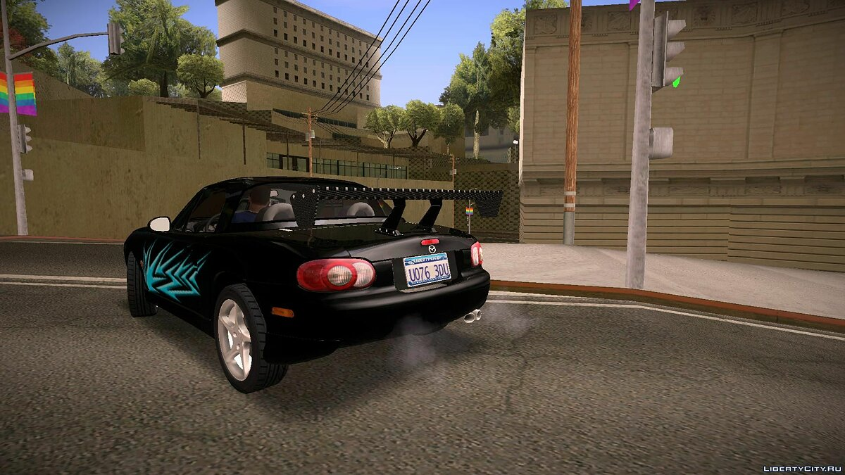 Mazda MX-5 Miata Tunable для GTA San Andreas - скриншот #9
