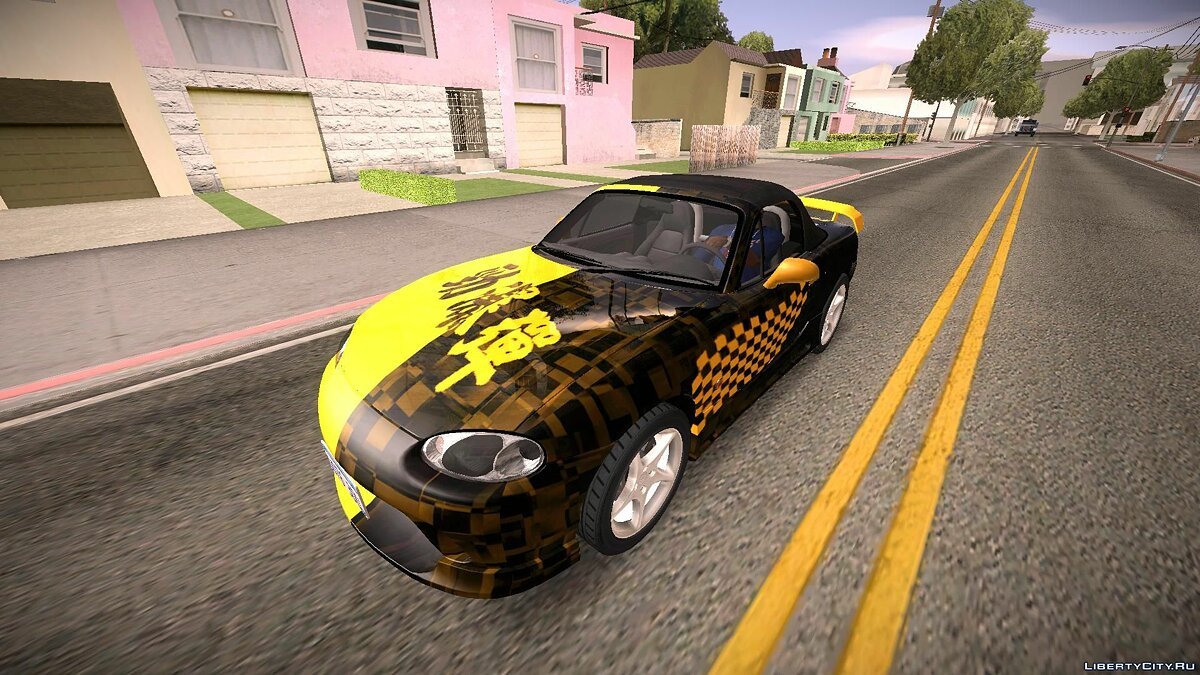 Mazda MX-5 Miata Tunable для GTA San Andreas - скриншот #13