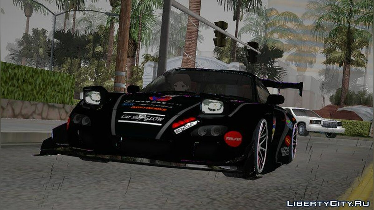 Машина Mazda 2002 Mazda RX-7 Tcp Magic для GTA San Andreas