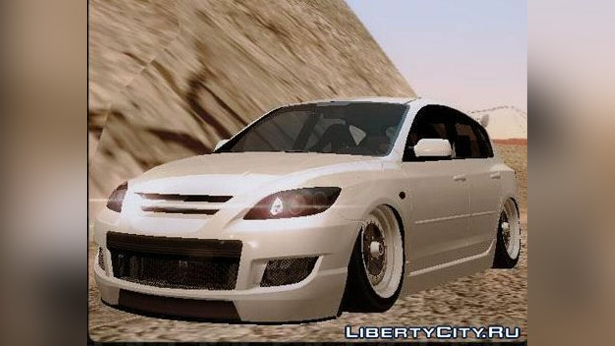 Mazda Speed 3 Stance для GTA San Andreas