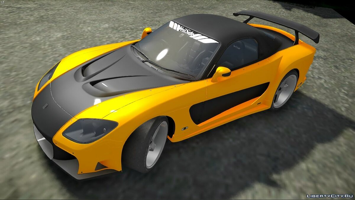 Машина Mazda 1993 Mazda RX7 Veilside Fortune Fast and Furious Tokyo Drift для GTA San Andreas