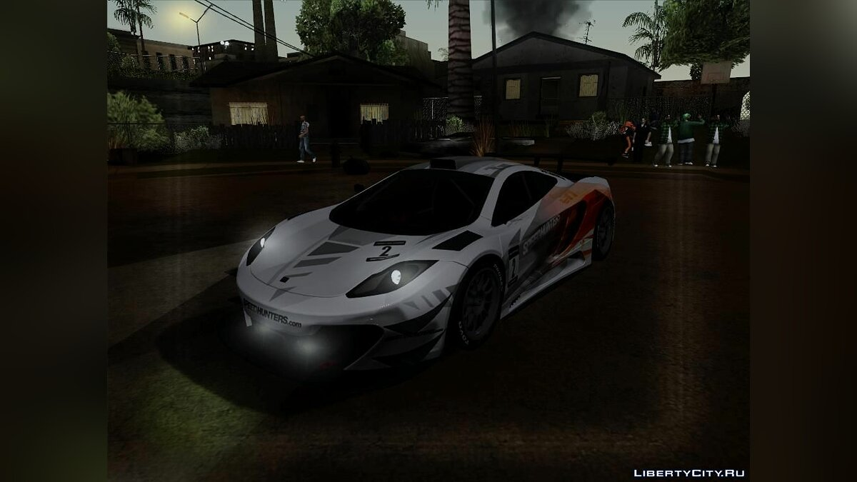 McLaren MP4 - SpeedHunters Edition для GTA San Andreas