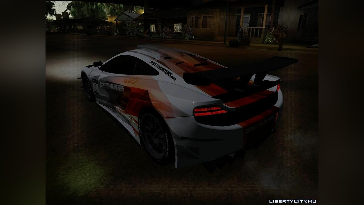 McLaren MP4 - SpeedHunters Edition для GTA San Andreas - скриншот #2