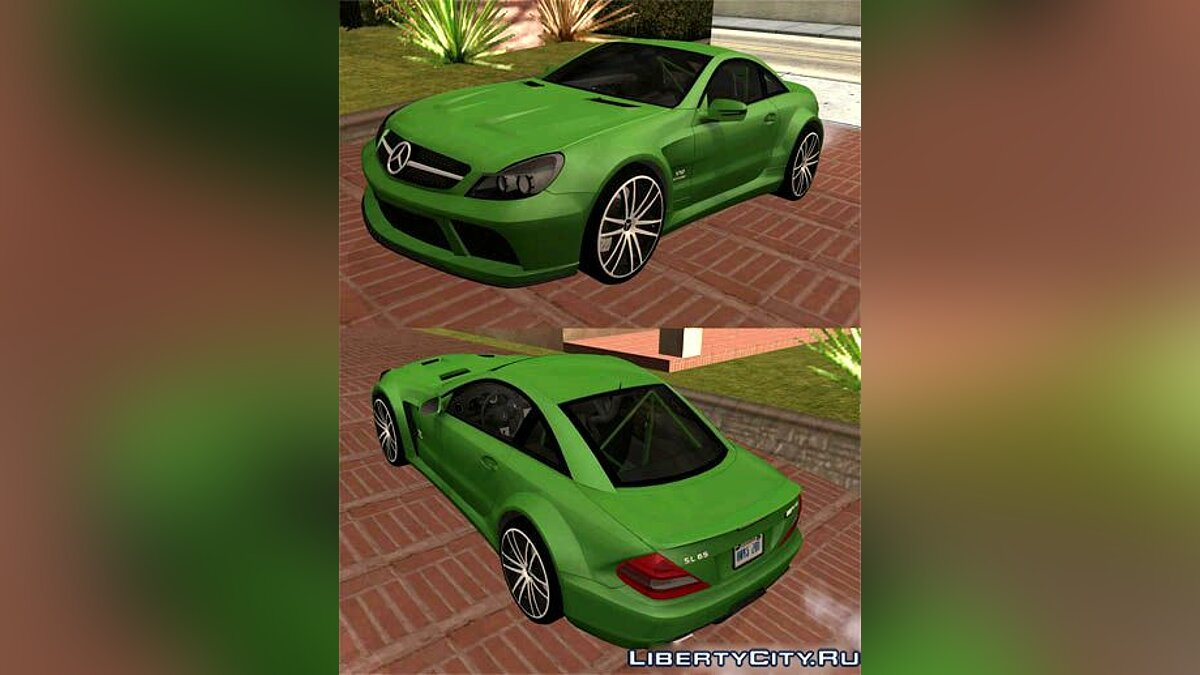 Mercedes Benz SL65 AMG Black Series для GTA San Andreas