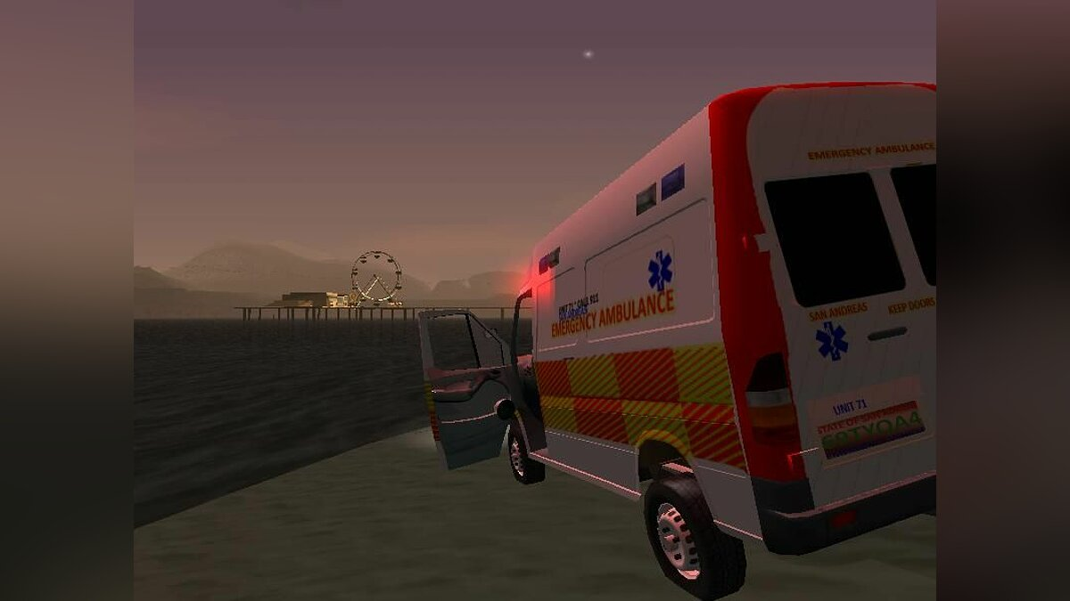 Mercedes-Benz Sprinter Ambulance для GTA San Andreas