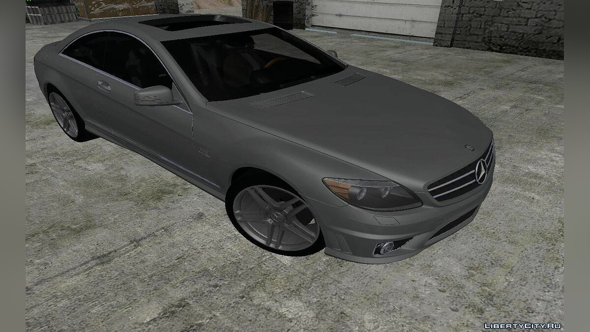 2010 Mercedes-Benz CL65 AMG для GTA San Andreas - Картинка #1