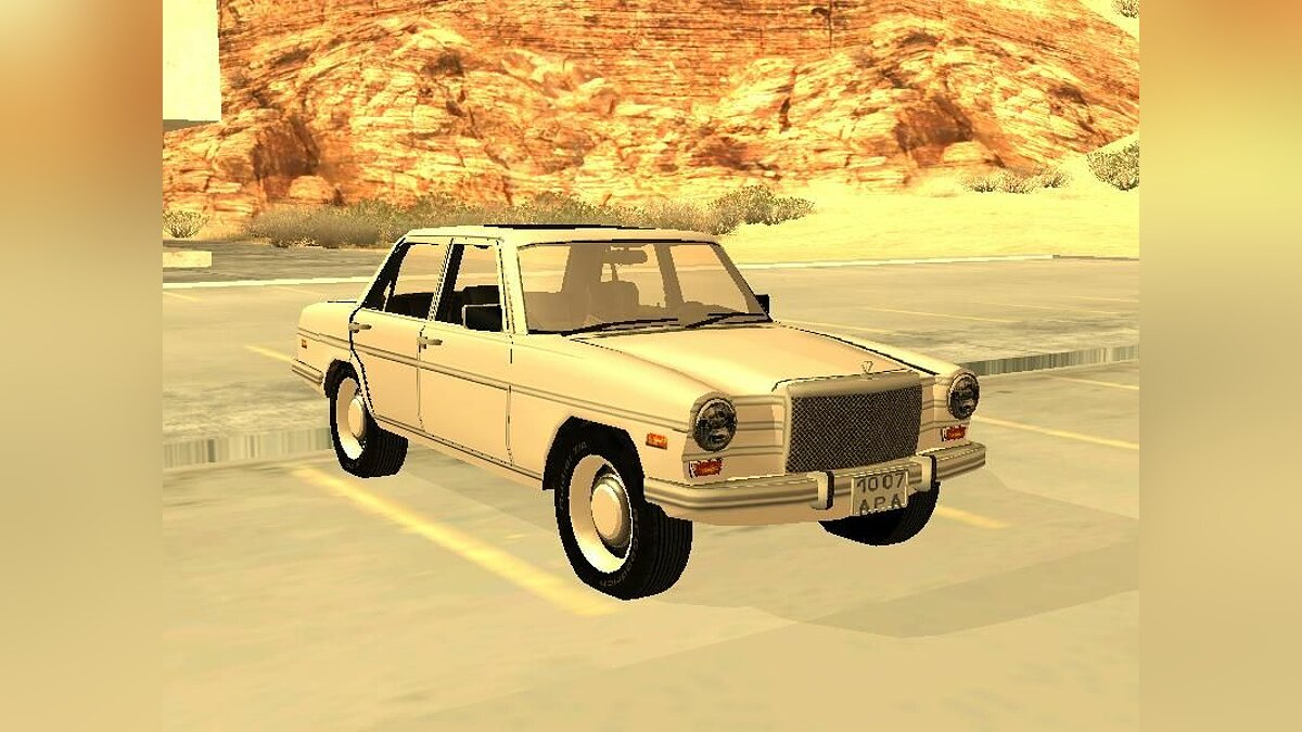 Mersedes Benz from COD-4 new для GTA San Andreas