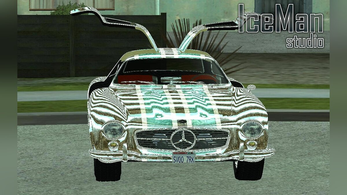 Mercedes Gullwing (Limited Edition) для GTA San Andreas